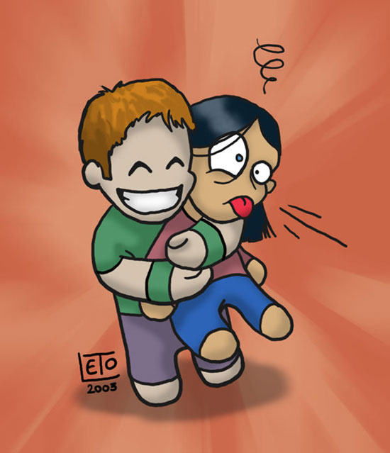 Bearhug cartoon